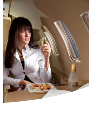 Passenger Amenities: Million Air Tucson Luxury Jet Center